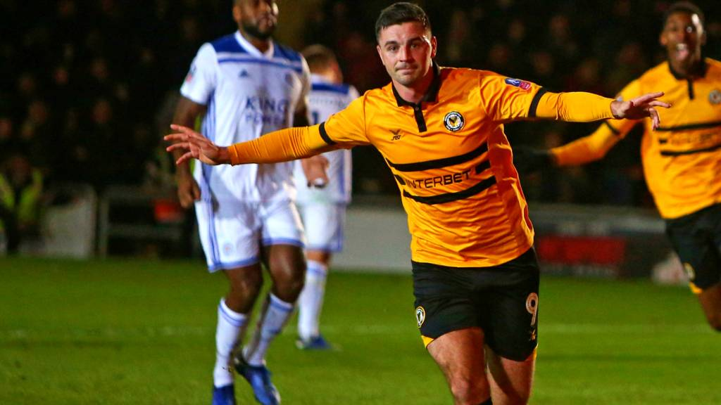 Middlesbrough vs Newport County